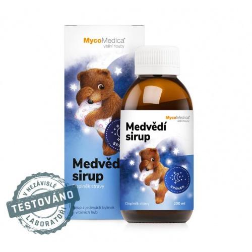 MycoMedica dětský sirup Medvědí sirup 200ml