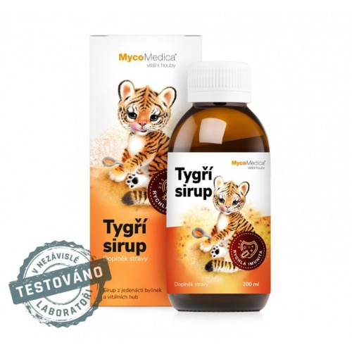 Tygří sirup 200ml