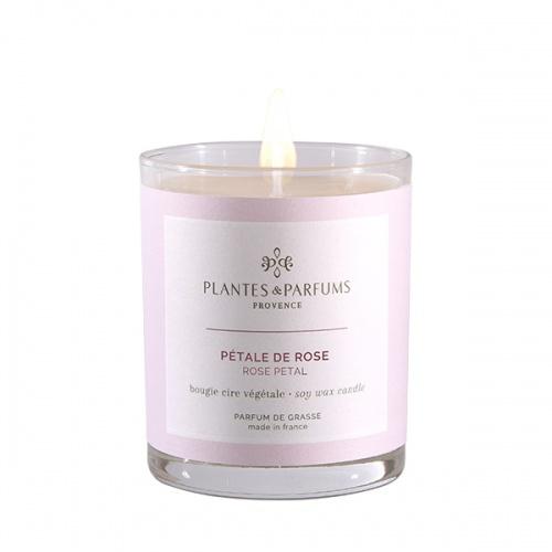 Plantes and Parfums svíčka Lístky růže 180g