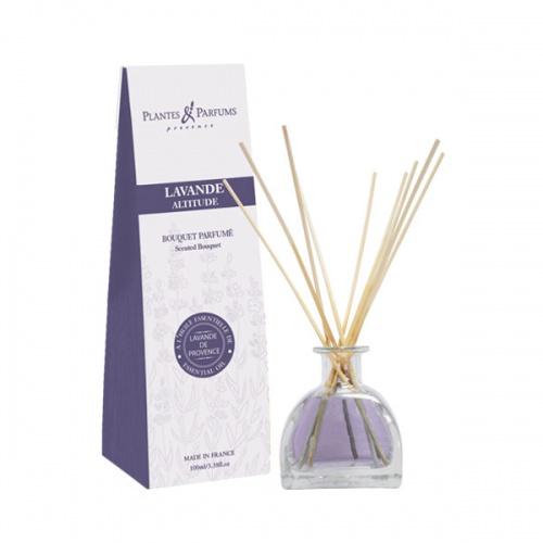 Plantes and Parfums parfém do interiéru s tyčinkami Levandule 100ml