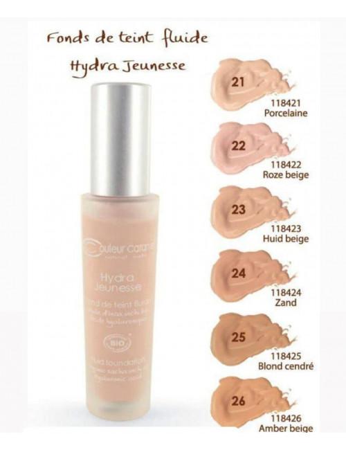 Hydratační make up č.25 Ash blonde 30 ml BIO