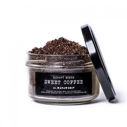 Almara Soap scrub Sweet coffee 85g