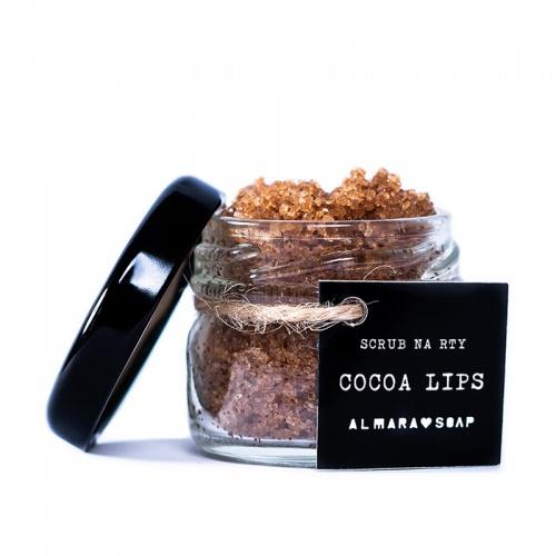 Almara Soap scrub na rty Cocoa lips 20g