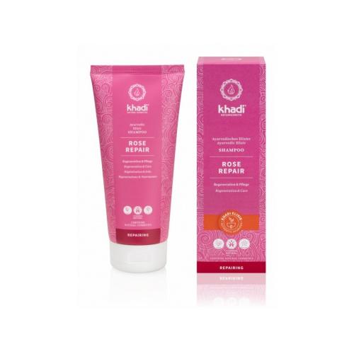 Khadi šampón Růže reparační 200ml