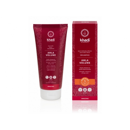 Khadi šampon pro objem Amla 200ml