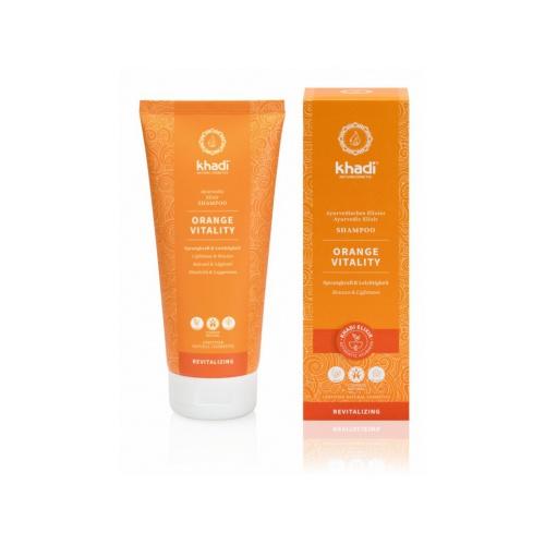 Khadi šampón Pomeranč Vitalita 200ml