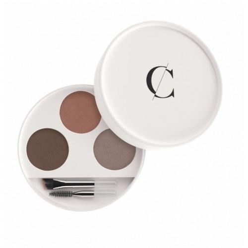 Couleur Caramel paletka na obočí pro blondýnky 3x 0,8g BIO