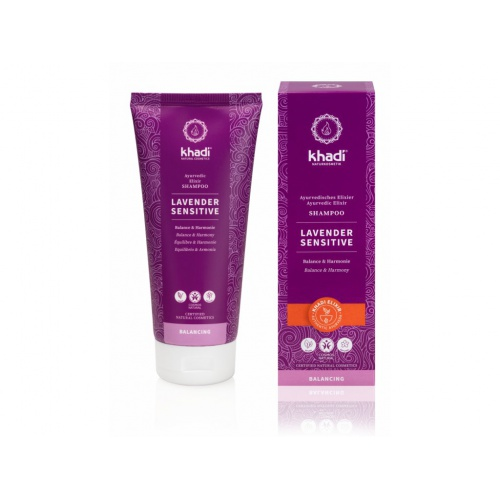Khadi šampon Levandule sensitive 200ml
