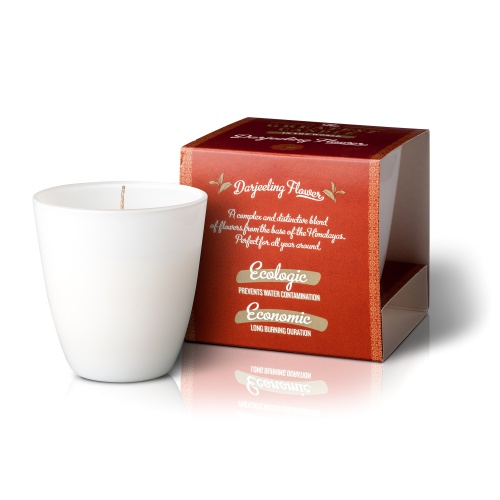 The Greatest Candle vonná svíčka ve skle (130g) Květ darjeelingu