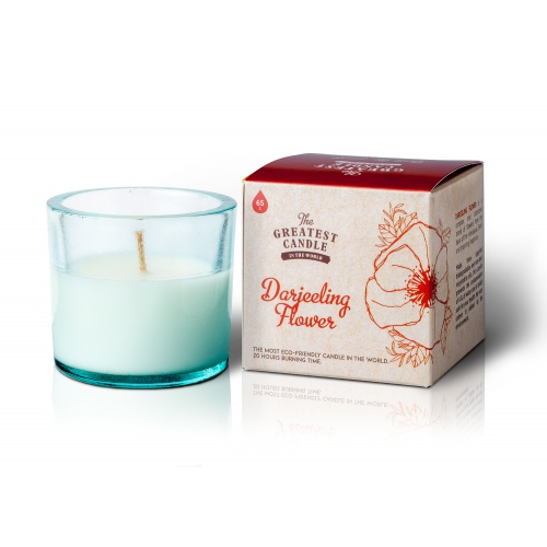 The Greatest Candle vonná svíčka ve skle (75 g) Květ darjeelingu