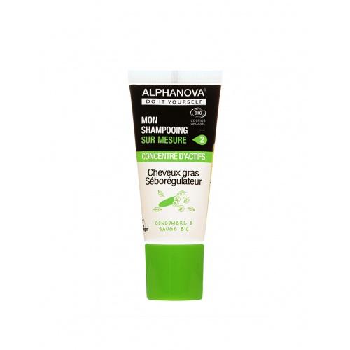 Alphanova šampon DIY koncentrát mastné vlasy