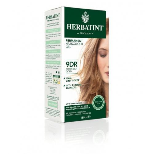 Permanentní barva na vlasy měděná zlatá 9DR