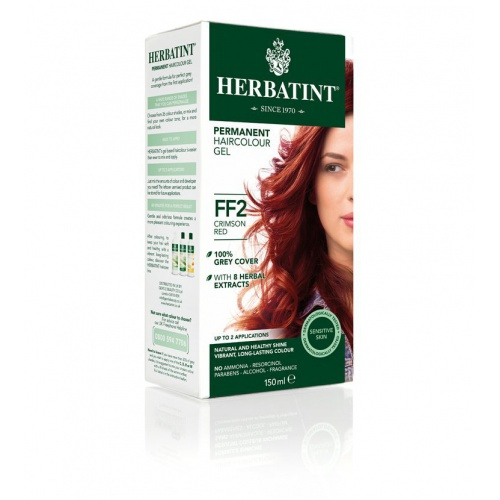 Permanentní barva na vlasy karmínová červená FF2