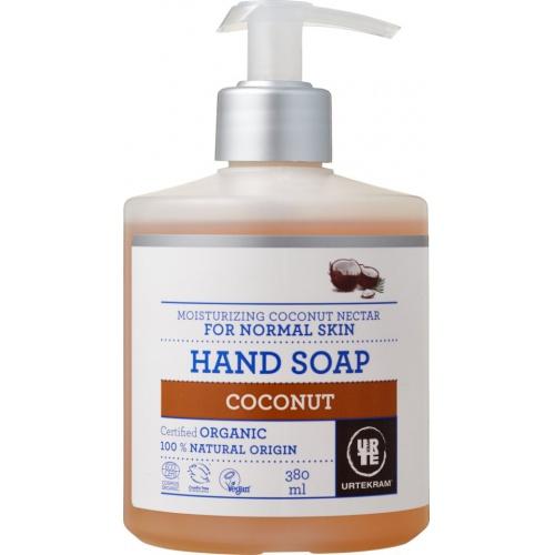 Urtekram tekuté mýdlo Kokosové 380ml BIO