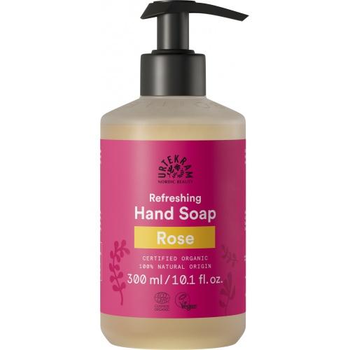 Urtekram tekuté mýdlo na ruce Růžové 300ml BIO