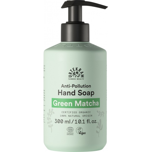 Urtekram tekuté mýdlo na ruce Matcha 300ml BIO