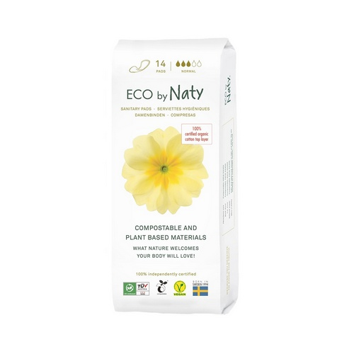 Eco by Naty dámské ECO vložky Naty (14 ks) normal