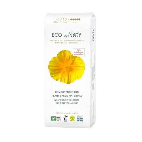 Eco by Naty dámské ECO vložky Naty (10 ks) noční