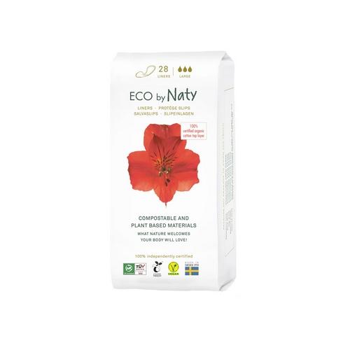 Eco by Naty dámské ECO slipové vložky Naty (28 ks) super