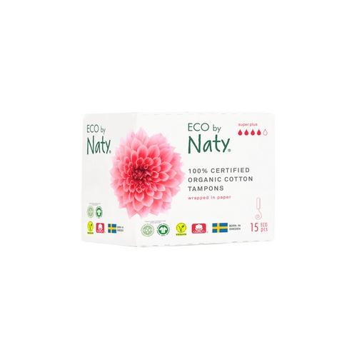 Eco by Naty dámské ECO tampóny Naty (15 ks) super plus