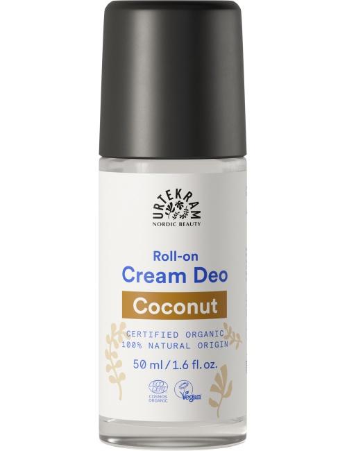 Urtekram deodorant roll on krémový kokosový 50ml BIO