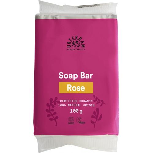 Urtekram mýdlo Růžové 100g BIO