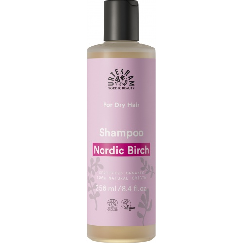 Urtekram šampon Severská bříza na suché vlasy 250ml BIO
