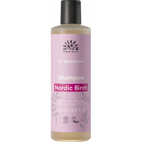Urtekram šampon Severská bříza normání vlasy 250ml BIO