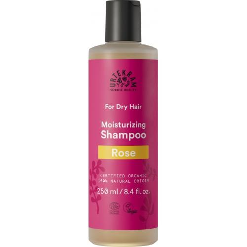 Urtekram šampon Růžový suché vlasy 250ml BIO