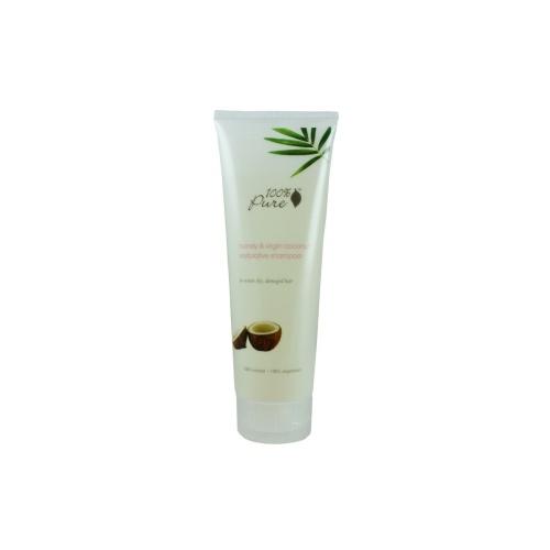 Šampon Med a kokos pro suché a poškoz vlasy 236ml