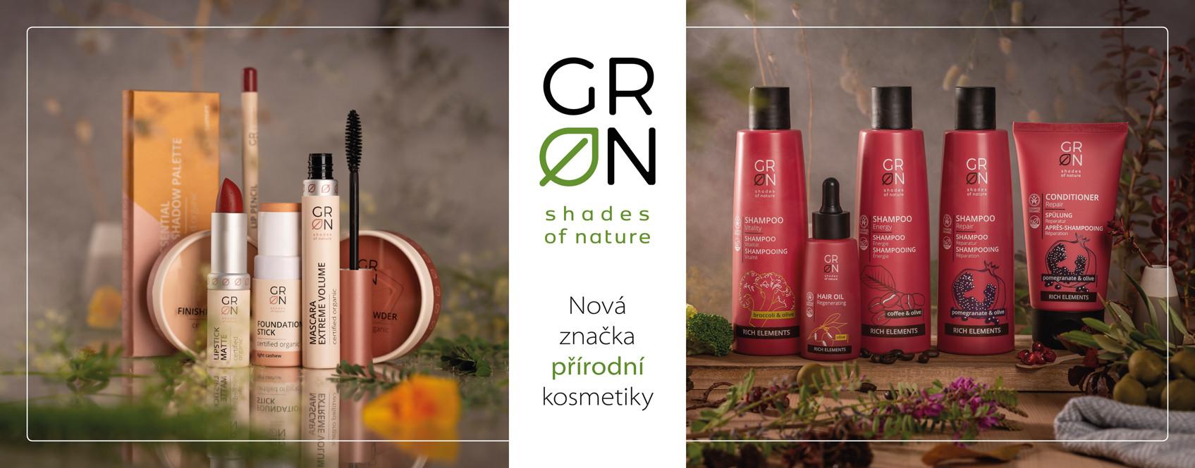 Nová značka přírodní kosmetiky GRN