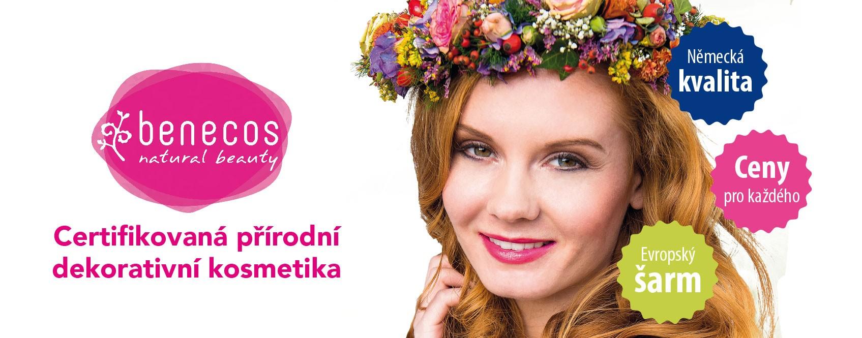 Benecos, německá značka přírodní dekorativní kosmetiky.